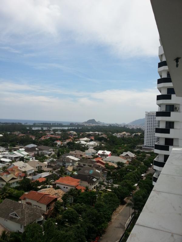 Recreio dos Bandeirantes views from the balcony of the apartment