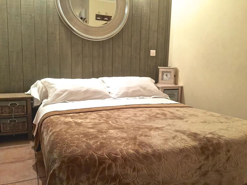 Comfy double bed with ensuite bathroom