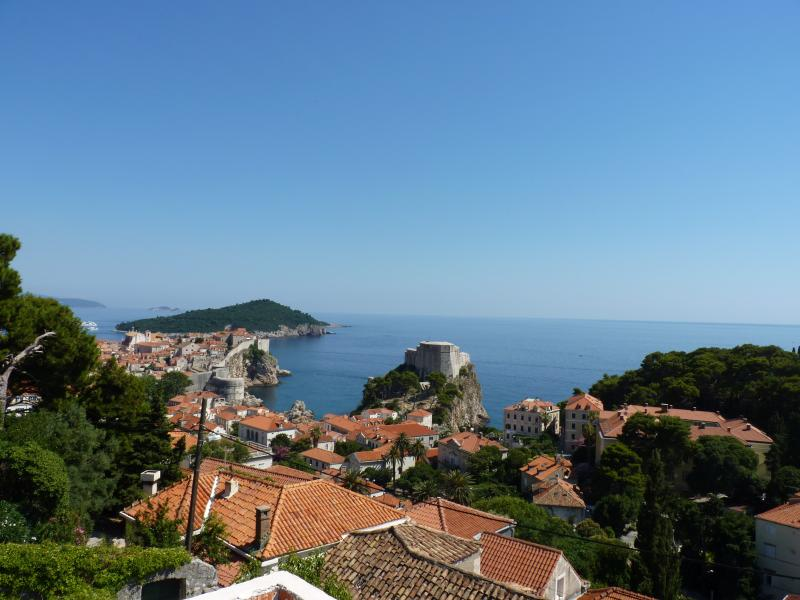 View on Old Town from Villa Anica