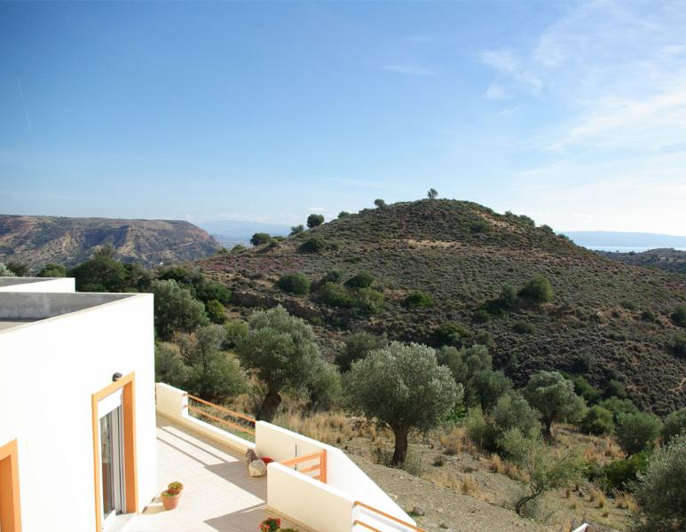 View from House Pelagia