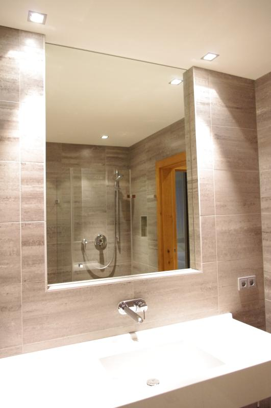 main bathroom with shower and WC