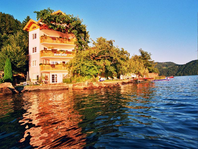 Seefels Appartements direkt am Millstätter See Kärnten Österreich, holiday rental in Millstatt