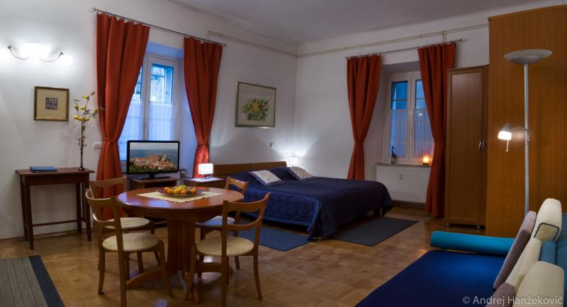 Charming Old Town Studio Nika with AC, WiFi & private parking on request, holiday rental in Ljubljana