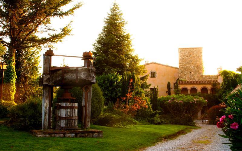 Can Olle de la Guardia. Casa Romani para 4 personas en medio de la naturaleza al lado de Montserrat