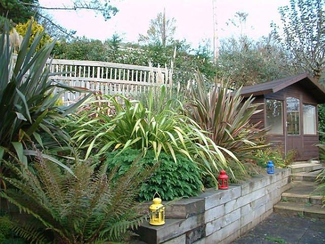 There is a Summer house which is a perfect spot for children to play in and enjoy.