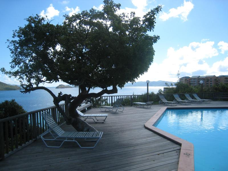 Middle Pool and sun deck with panoramic views