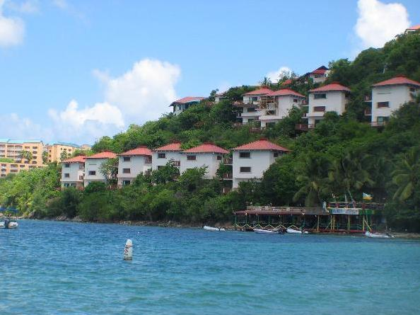 View of the Resort from Pineapple Beach