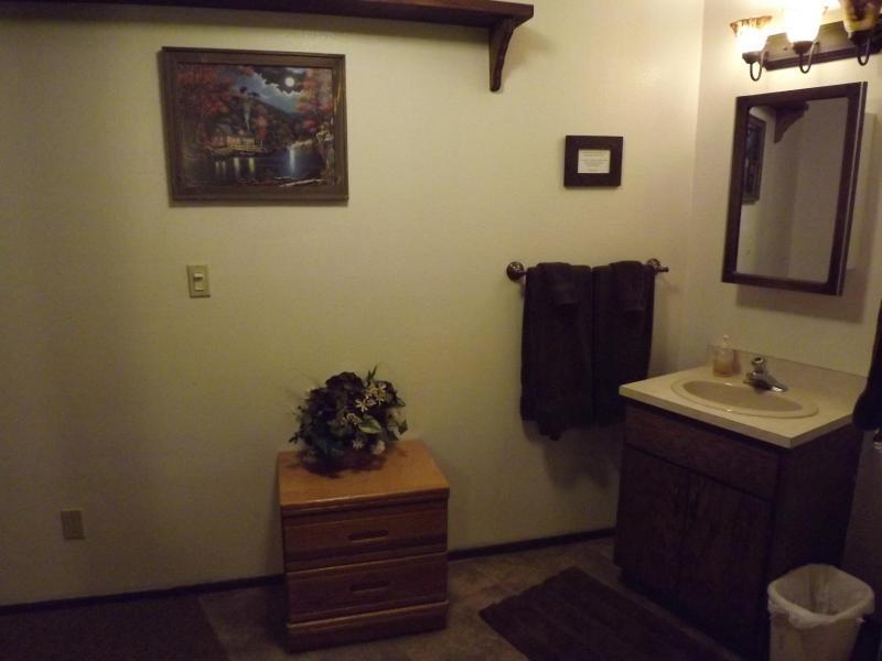 Bovenverdieping badkamer gebied
