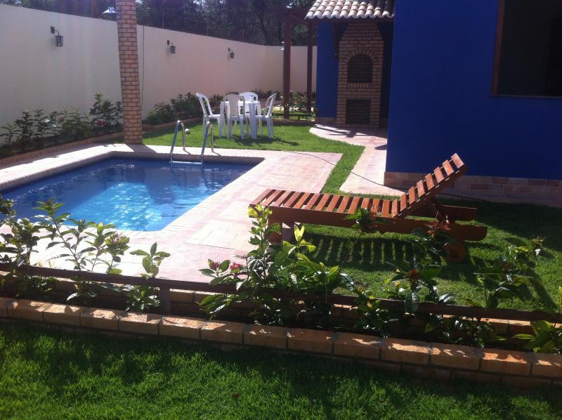 Casa Praia Morro Branco, piscina e  churrasqueira, casa vacanza a Cascavel