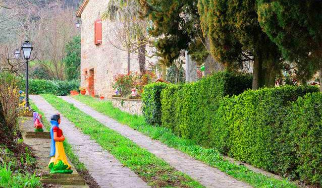 Raperonzolo, holiday rental in Cetona