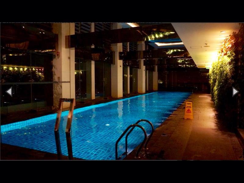 25 meter Lap Pool located halfway up the tower