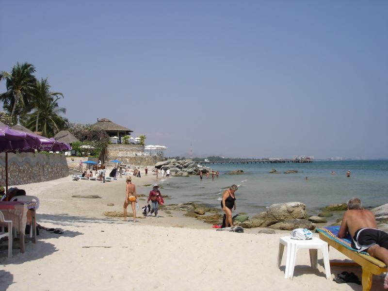 Impressão da praia 2,5 km da casa.