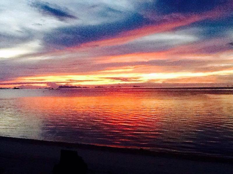 Sunset at Ban Tai beach