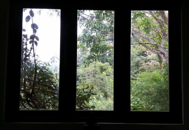 Utsikt från övre våningen rum