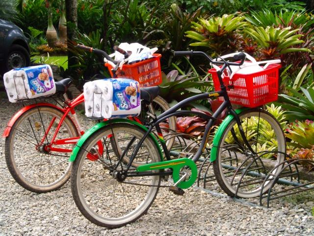 Rent our bycicles! A great way to get around!