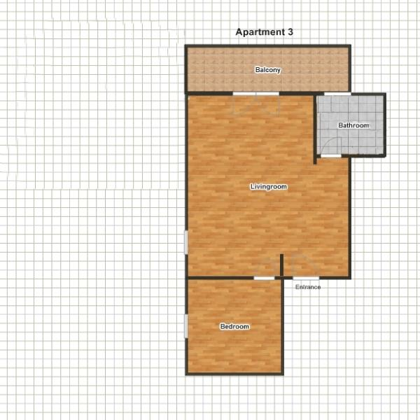 Apartment 3, floor plan