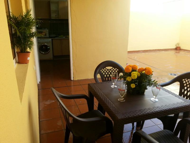Grande terraço, mesa de jantar Set