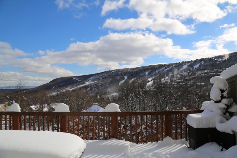 View from your deck of Camelback