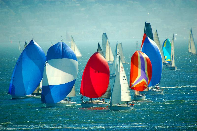 Frequent Sailboat Races from Patio/Deck