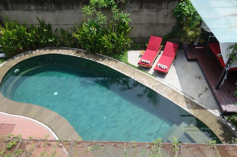 Pool Balcony View 2