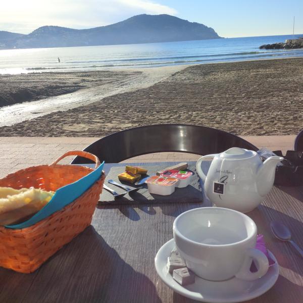 small dej to Albatros beach Lecques