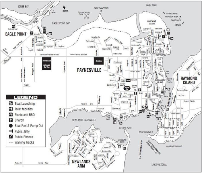 Area Facilities Map
