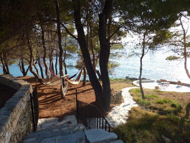 Siesta time hammocks and seaside patio