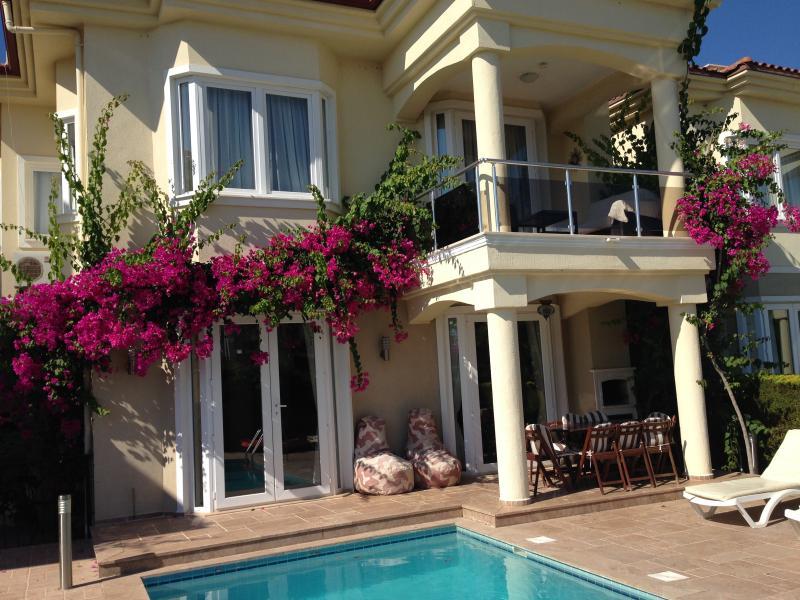Stunning south facing beachfront villa