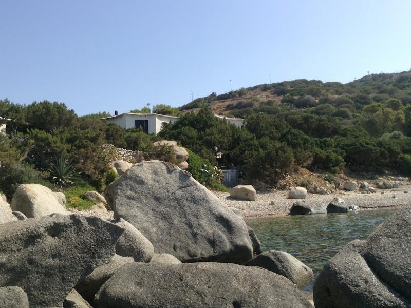The house, the garden, the beach