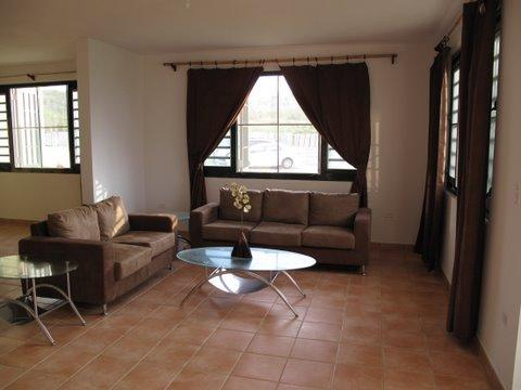 Open concept Living/Dinning /Family room with cover Balcony, TV/Dish, CD Player & Internet