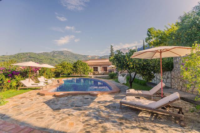 Elegant and spacious finca in Soller / Mallorca, vacation rental in Soller
