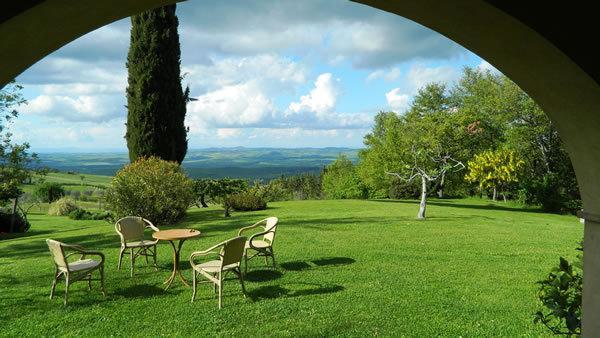 LE ROGHETA C.Claudia nel parco della  Val d'Orcia, casa vacanza a Castiglione D'Orcia