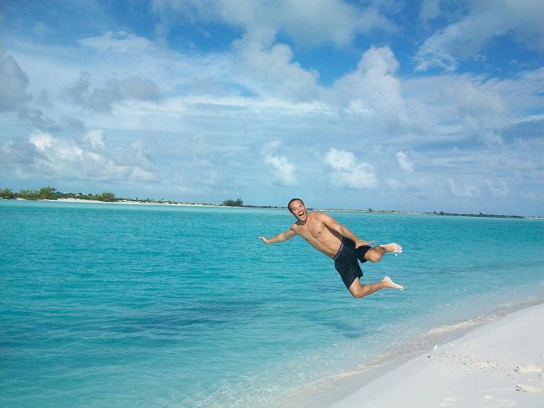 Don't everybody wish they could fly, Moriah Cay,  Exuma Bahamas.