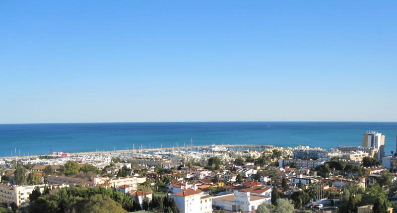 Wider view from Balcony towards the Puerto Marina - Benalmadena