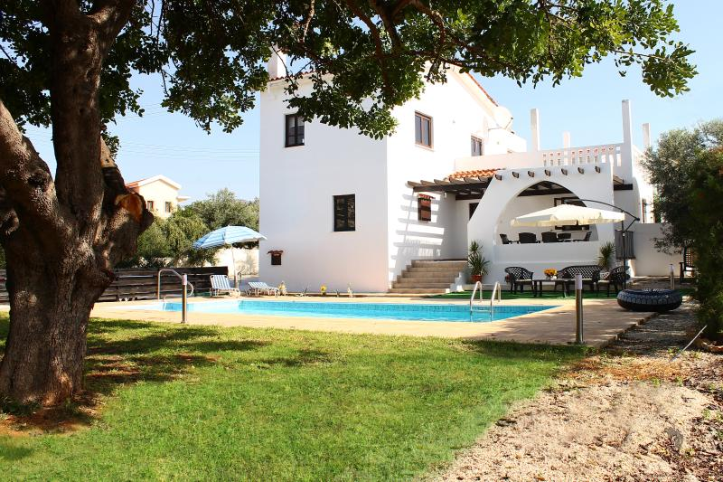 Andros 1 Holiday villa with swimming pool, holiday rental in Paphos District