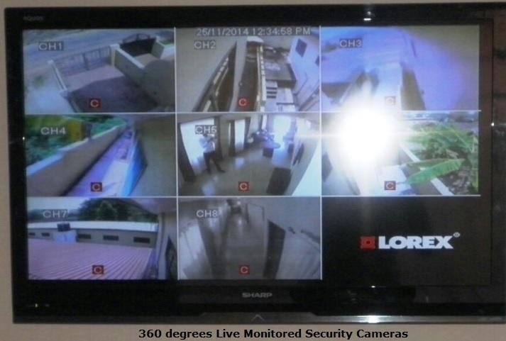 Marets Security - 360 Degrees Cameras with 24/7 Live Monitoring and Security Guards
