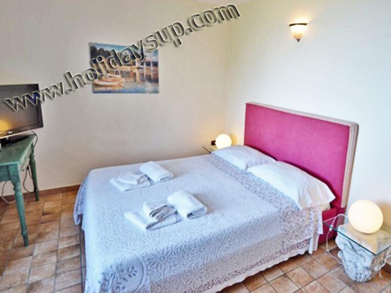 Villa amolu holidaysup Dubbelrum med luftkonditionering/värme sorrento resor bokning villas