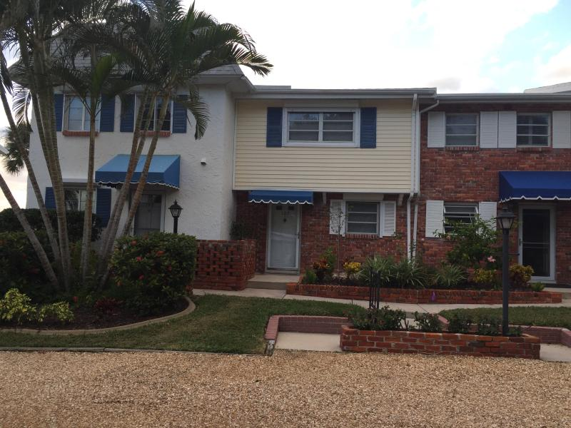 Siesta Town House, unit 107, second from the left.