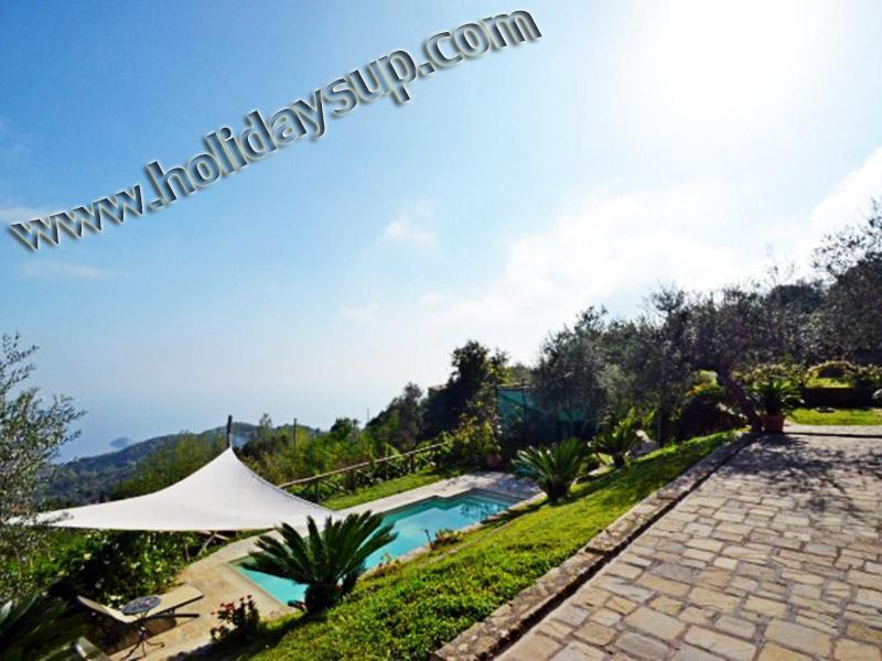 Villa med pool, solarium och mexikanska havet Visa uthyrning flipkey amalfi kusten stuguthyrning