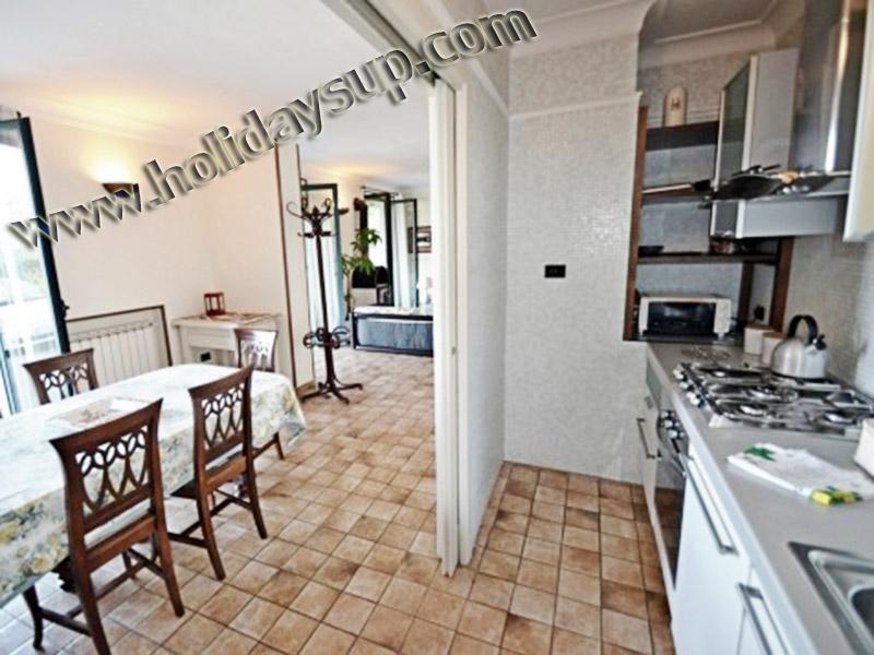 Kök sidan välutrustade på villa i sorrento kusten hus att hyra med privat pool hyror