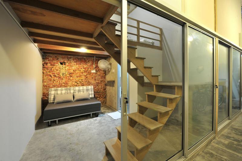 Tutti i loft è dotato di una mini soggiorno sala al piano terra (si applicano solo sull'ospite di 2 che soggiornano sul soppalco)