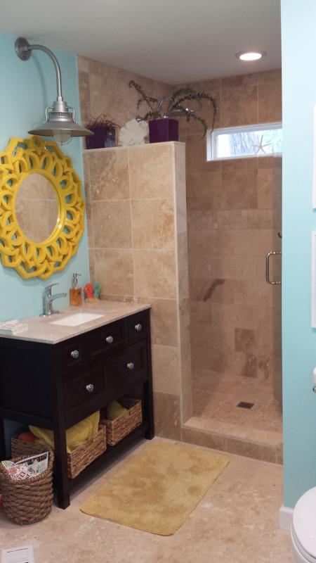 Spa Type Bathroom with Big Shower