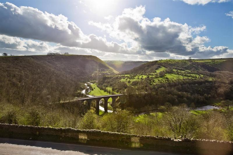 View form the house over Monsal Dale