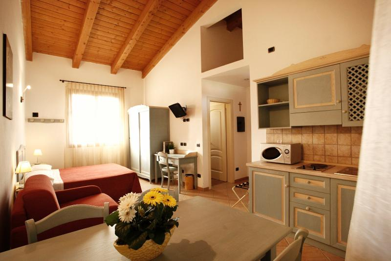 One room apartment / studio for 2/3 persons, a few km from the sea, vacation rental in San Mauro Pascoli