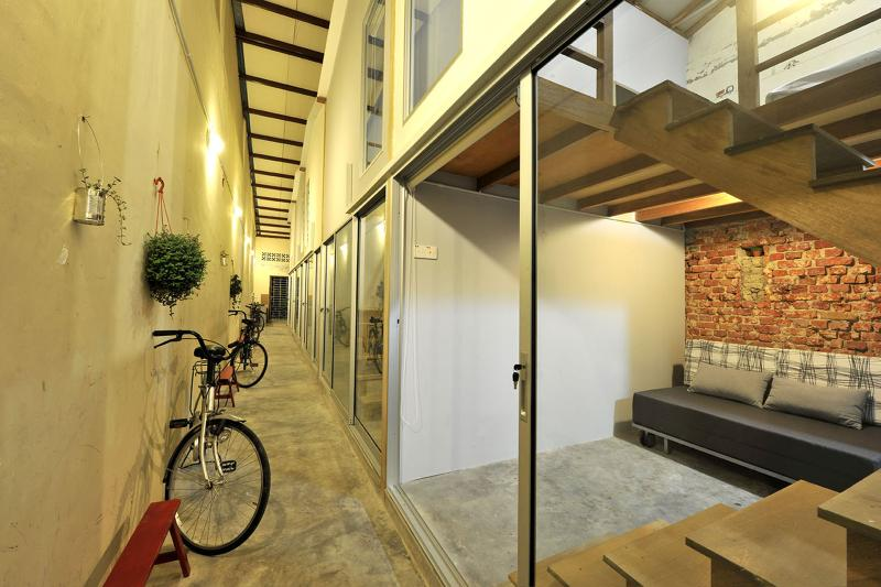 Duplex loft with private attached bathroom