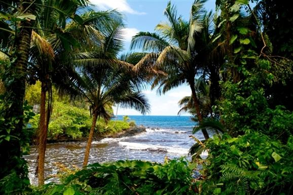 Romantic secluded cove