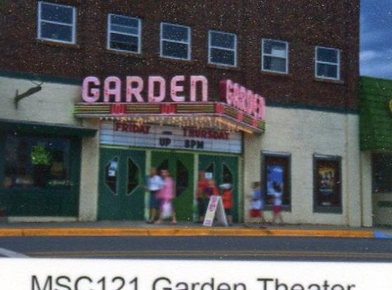 The restored Garden Theatre and adjacent Storm Cloud Brewery add much to the downtown.