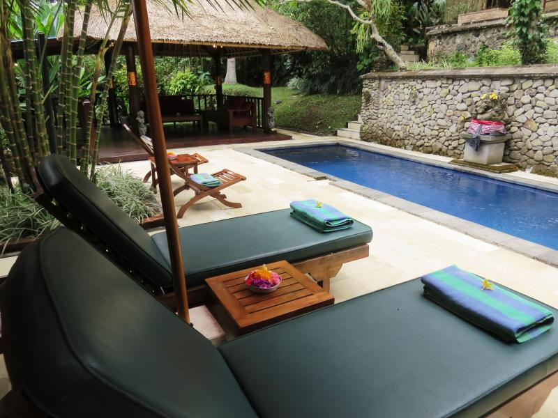 Gorgeous! Villa Teras Sungai 2 bdrm Ubud Center, vakantiewoning in Ubud