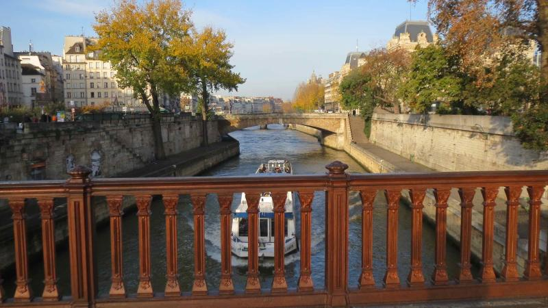 La Seine, naast de Notre-Dame