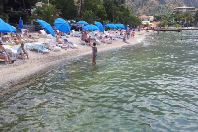 Dobrota beach